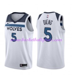 Minnesota Timberwolves Trikot Herren 2018-19 Karl Gorgui Dieng 5# Association Edition Basketball Tri..